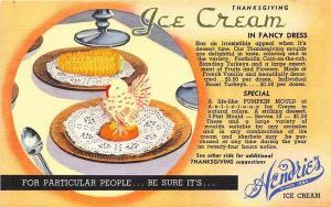 Milton MA Eliot Creamery Hendrie's Ice Cream Curt Teich Linen Postcard