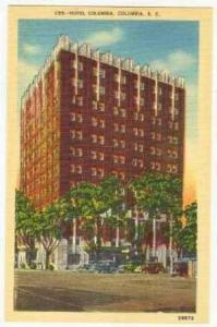 Hotel Columbia, South Carolina, 30-40s