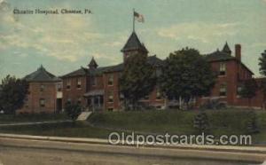 Chester Hospital,Chester, Pa., USA Hospital, Hospitals Postcard Postcards  Ch...