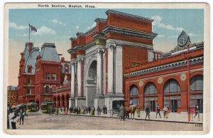 Boston, Mass, North Station
