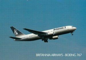 BRITANNIA Airways - Boeing 767 Jet Airplane , 1996