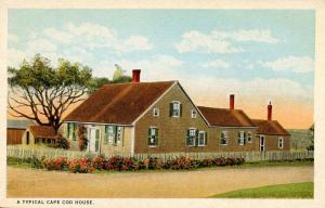 MA - Cape Cod. Typical Cape Cod House