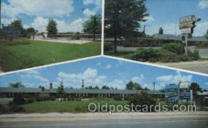 Allendale Motor Court, Allendale, South Carolina, USA Motel Hotel Postcard Po...