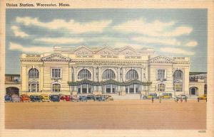 12102  MA Worcester 1940's  Union Station