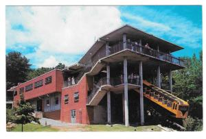 Chattanooga TN Incline Car Station Lookout Montain Postcard