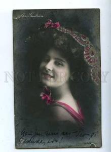 184734 Miss GUDRUN HILDEBRANDT Ballet Dancer Vintage PHOTO PC