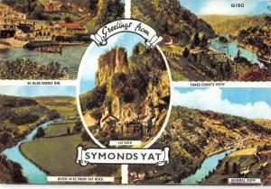B103149 symonds yat three county view    uk