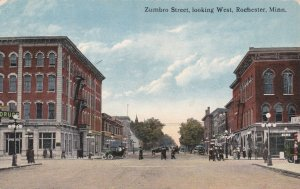 Minnesota Rochester Zumbro Street Looking West sk5420