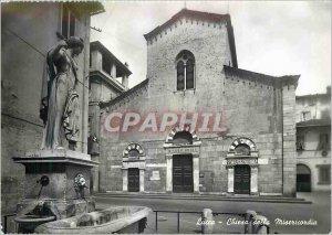 Postcard Modern Lucca Chiesa della Misericordia