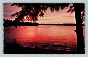 Hastings Ontario- Canada, General Greetings, Scenic Lake, Chrome Postcard
