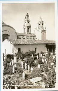 CA - San Francisco, Mission Dolores Cemetery   *RPPC