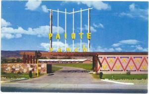 Paiute Ranch Motel. 3601 S Virginia, Reno, Nevada, NV, pre-zip code Chrome