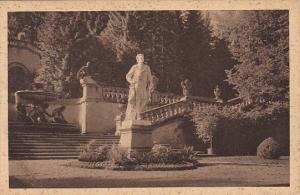 Terasse Koenig Ludwig Denkmal Schloss Linderhof Bavaria Germany