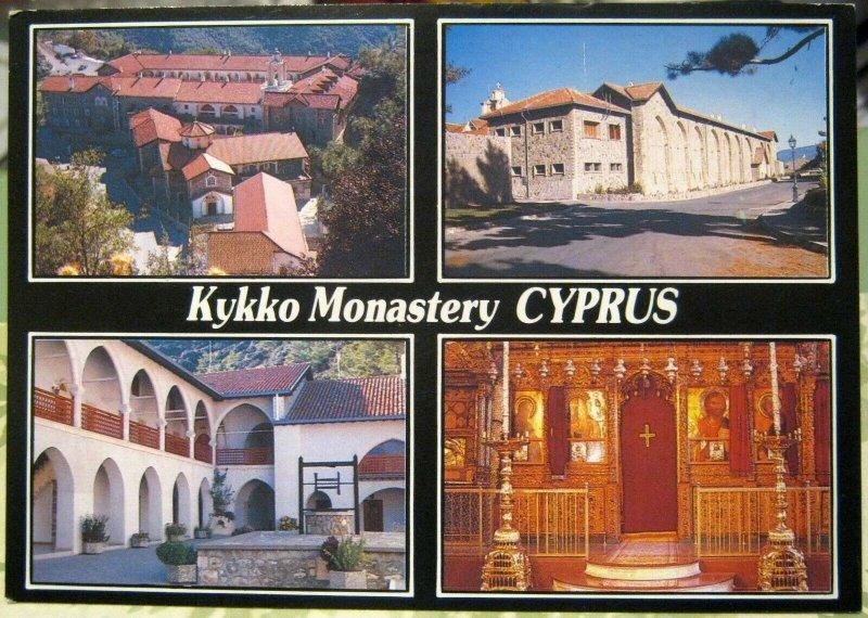 Cyprus Kykko Monastery Multi-view - unposted