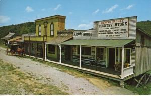 Old Main Street ~ Renfro Valley Kentucky KY  ~ Loom House Horse Buggy Postcard