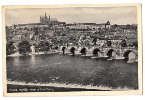 Praha, Karluv most a Hradcany