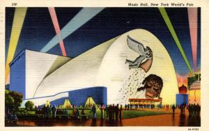 NY - New York World's Fair, 1939. Music Hall