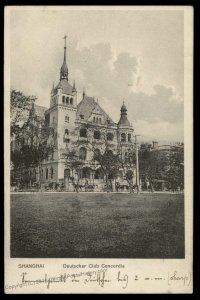 Germany 1909 China Cover Deutscher Club Concordia 95162