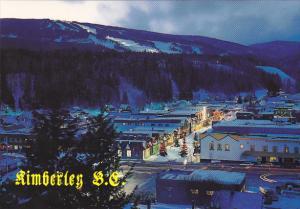 Canada Street Scene Kimberley British Columbia