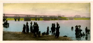 Egypt - Carrying Water from the Nile  *RPPC    (2.625 X 5.875)