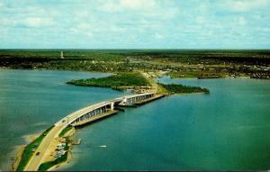 Florida Englewood Beach The New Bridge 1965