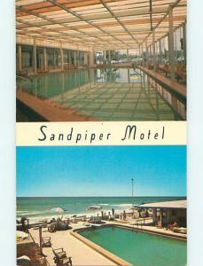 Unused Pre-1980 SANDPIPER MOTEL Panama City Florida FL s5552