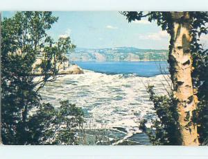 Pre-1980 TOWN VIEW SCENE St. Saint John New Brunswick NB p9348