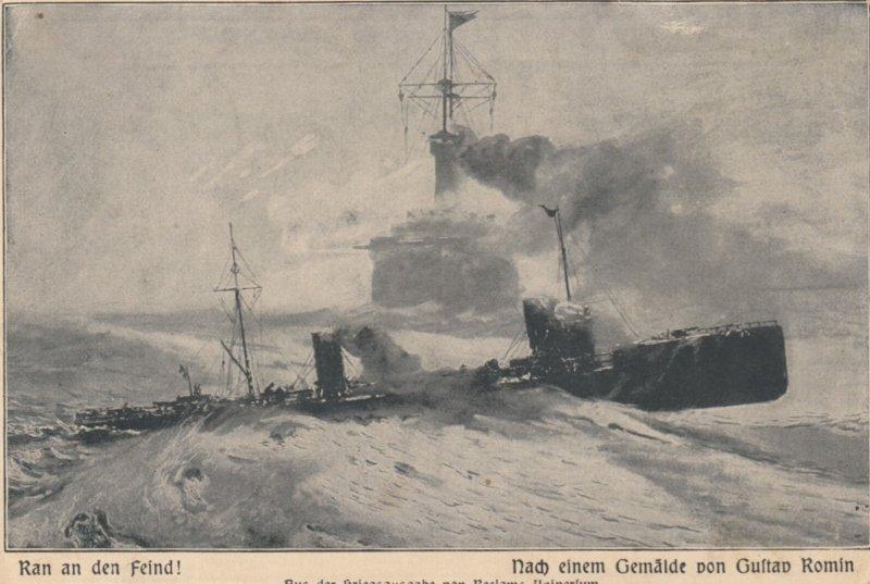 War 1914-18 ; Ran an den Feind!