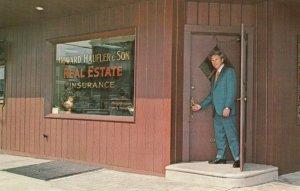 PHILADELPHIA, Pennsylvania, 50-60s; Howard Haufler & Son Real Estate Insurance