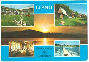 Czech Republic, LIPNO, 1980 used Postcard