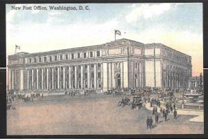 Washington DC Post Office, Smithsonian, unused