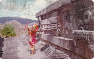 Mexico Temple Of Quetzalcoatl San Juan Teotihuacan