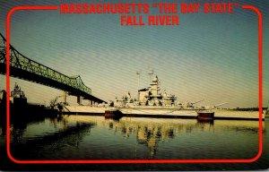Massachusetts Fall River U S S Massachusetts
