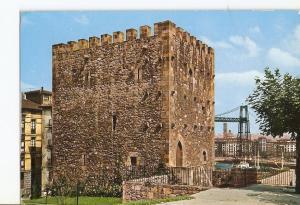 Postal 023588 : Castillo de Salazar Portugalete (Vizcaya)