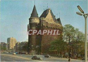 Postcard Modern Brussels door hal