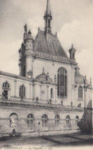 CHANTILLY, France, 1910-1920s, La Chapelle