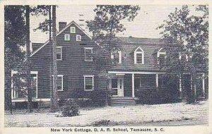 South Carolina Tamassee New York Cottage D A R School