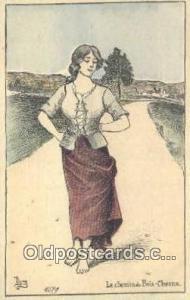 Artist Jaques Nam Postcard Post Card, Old Vintage Antique  Artist Jaques Nam ...