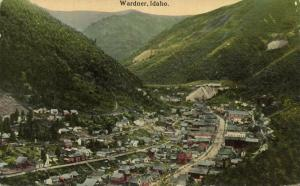 Wardner, Idaho, Panorama (1920s)