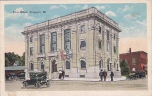 Illinois Freeport Post Office 1920