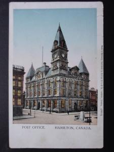Canada: Hamilton Post Office - Old Postcard