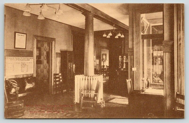 Saratoga Springs NY~Young Women's Industrial Club~Main Office~Motto~Phones~c1910