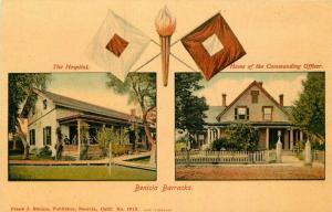 Benecia Solano California Military C-1910 Postcard Stumm 3389