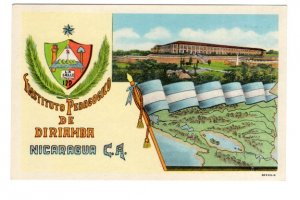 Instituto Pedegocko de Diriamba, Nicaragua, Used 1966 Indiana, Charity Stamps
