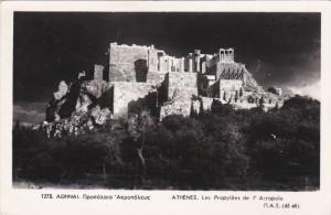 RP; ATHENS, Greece; Les Propylees de l´ Atropole, PU-1956