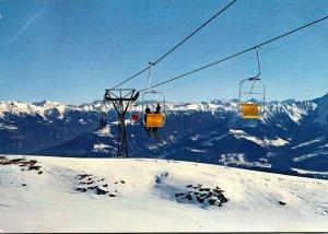 Switzerland Flims Sesselbahn Startgels-Nagiens