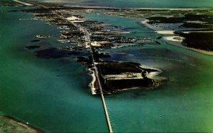 Florida Keys Aerial View Of Marathon
