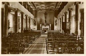 Algeria - Cherchell. Cathedral of St Paul, Interior   *RPPC