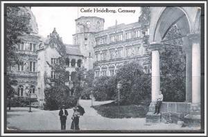 Germany, Heidelberg - Castle Heidelberg - [FG-131]