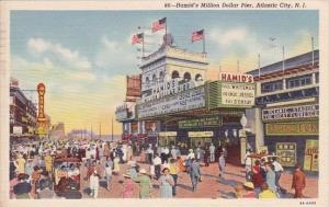 New Jersey Atlantic City Hamid's Million Dollar Pier 1920